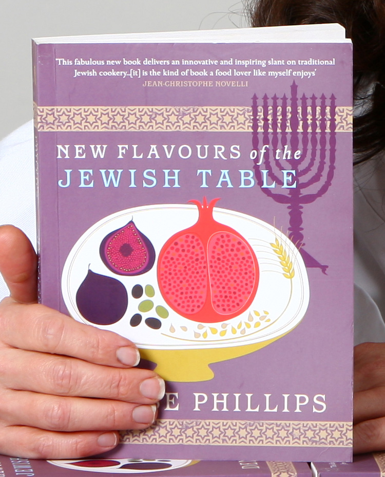 New flavours of jewish table book