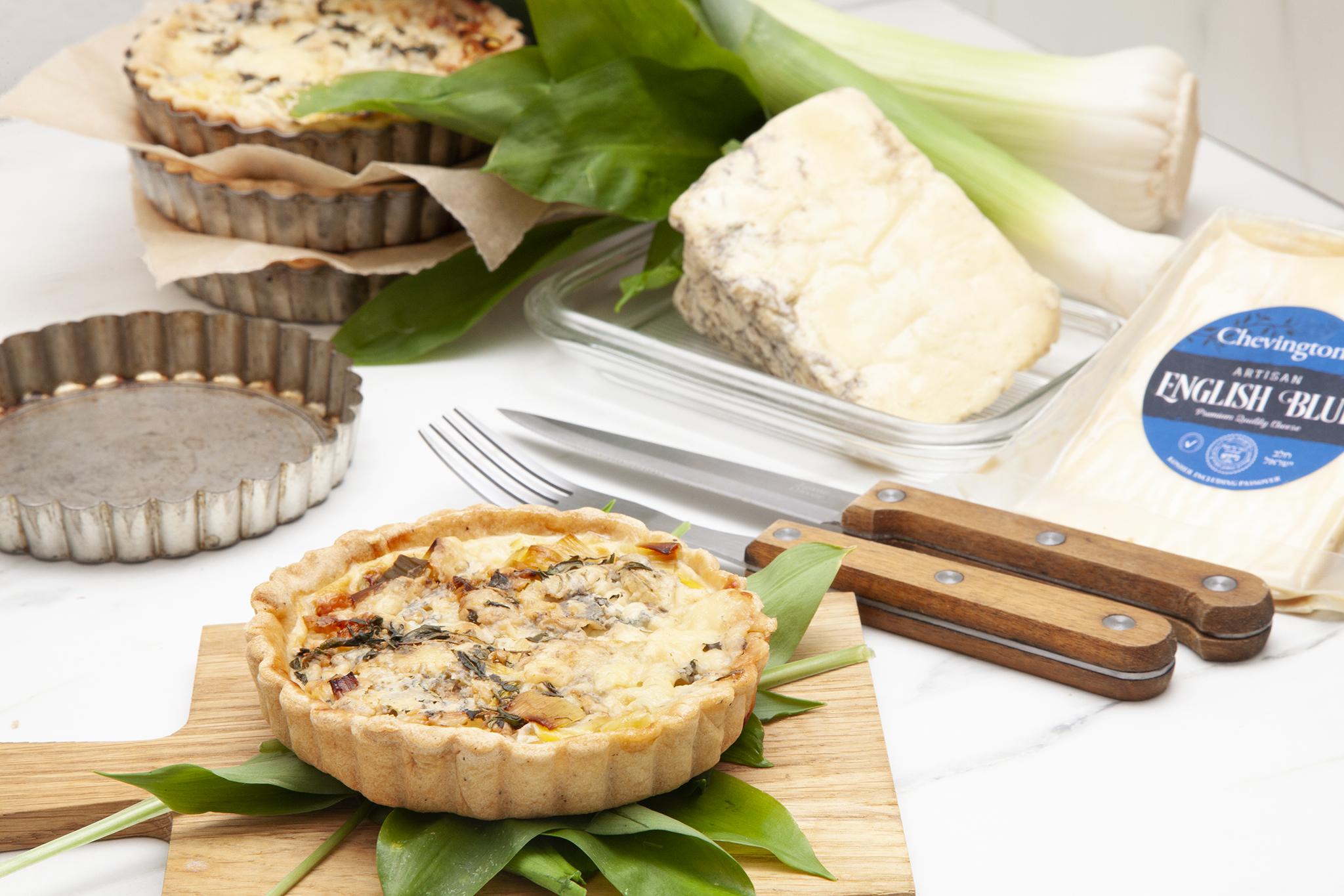 Jewish Cookery | Kosher Recipes | Leek & Blue Cheese ...